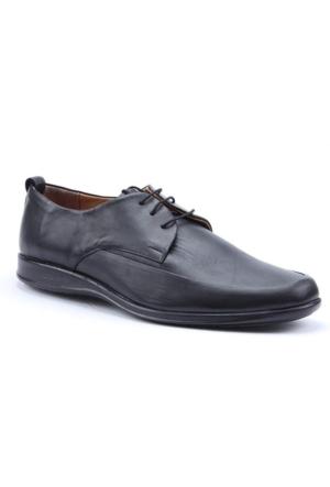 Paolo Massi Kauçuk Taban %100 Deri Nefes Alan Klasik Ayakkabı