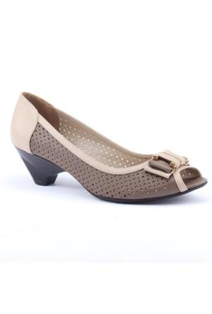 Polaris Carmens 4106 Günlük Fındık Topuk Bayan Ayakkabı