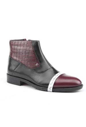 Pierre Cardin 7415B %100 Deri Günlük Termo Taban Erkek Bot Ayakkabı