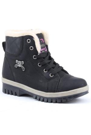 Twingo 4385 İçi Termal Kürklü Kız Çocuk Bot Ayakkabı