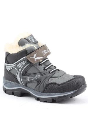 Zümrüt 2700-G İçi Termal Kürklü Erkek Çocuk Spor Bot Ayakkabı
