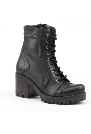 Siber 7187-S Günlük Topuklu Termo Taban Bayan Bot Ayakkabı