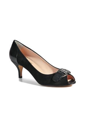 Desa Ernie Kadın Klasik Süet Ayakkabı Siyah