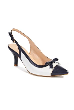 Desa Betria Kadın Klasik Ayakkabı Lacivert - Beyaz