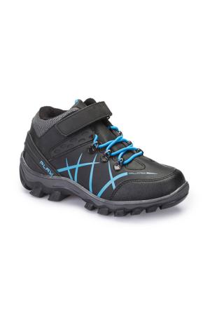 Polaris 62.508696.F Siyah Erkek Çocuk Outdoor Ayakkabı