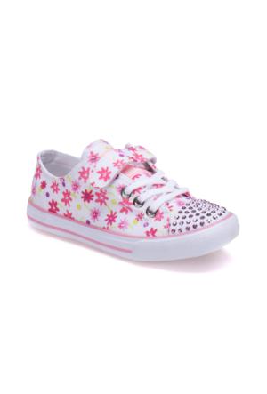 Kinetix 1238539 Beyaz Kız Çocuk Sneaker