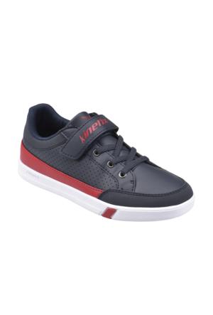 Kinetix A1291087 Lacivert Beyaz Kırmızı Erkek Çocuk Sneaker