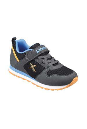 Kinetix A1290766 Siyah Koyu Gri Koyu Mavi Erkek Çocuk Sneaker