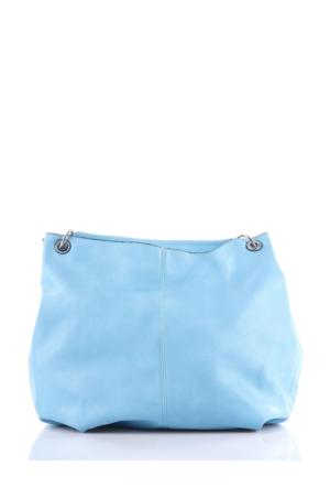 Mçs By15B036 Mavi Kadın Çanta