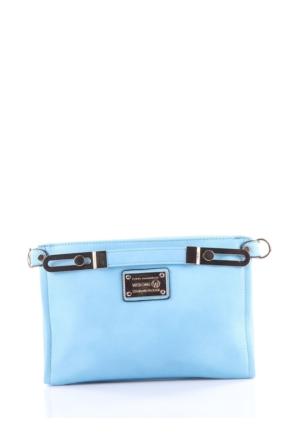 Mçs By15B134 Mavi Kadın Çanta