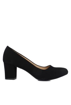 Loggalin 580710 031 009 Kadın Siyah Ayakkabı
