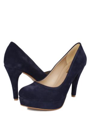 Loggalin 580502 031 422 Kadın Lacivert Platform Ayakkabı