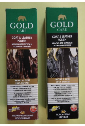 Gold Care Mont ve Deri Eşya Boyası 100 ml Siyah