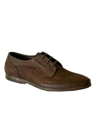 Mammamia 7045 Nubuk Deri Erkek Ayakkabı Kahverengi