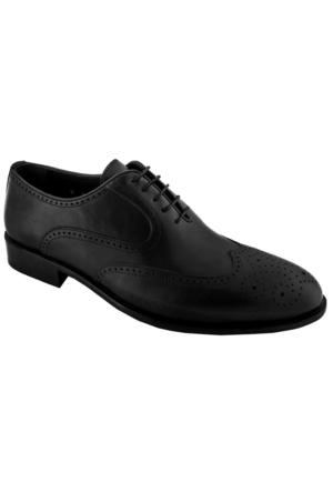 Zafer Türkoğlu 2488 Erkek Klasik Ayakkabı Siyah