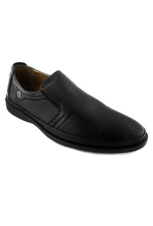 Fratelli 2030 Deri Ortopedik Taban Erkek Ayakkabı Siyah