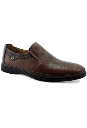 Fratelli 2030 Deri Ortopedik Taban Erkek Ayakkabı Taba