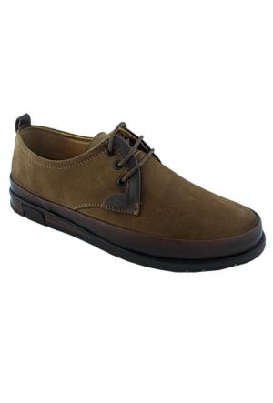 Fratelli 2036-1 Deri Ortopedik Erkek Ayakkabı Taba