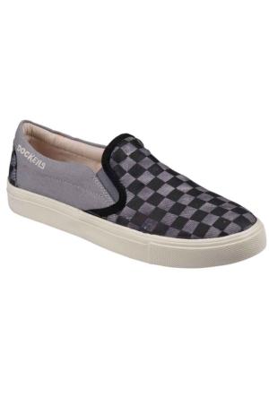 Dockers 218716 Keten Kadın Ayakkabı Siyah