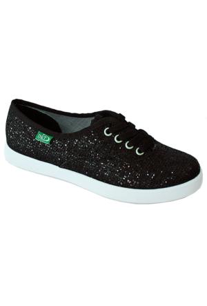 Ottimo 0103 Pullu Günlük Kadın Ayakkabı Siyah