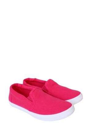 Altınbaş Ayakkabı Fuşya Kız Çocuk Filet Keten Ayakkabı 18408