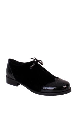 Oflaz Siyah Günlük Bayan Ayakkabı Y3009