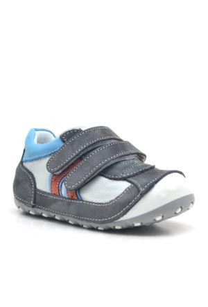 Hapshoe İlk AdımHakiki Deri Cırtlı Ortopedik Erkek Bebek Ayakkabısı