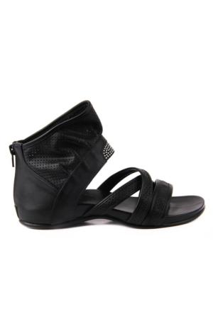 Sail Lakers Hakiki Deri Kadın Sandalet