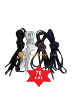 Lastik Yassı Ayakkabı Bağ 70cm