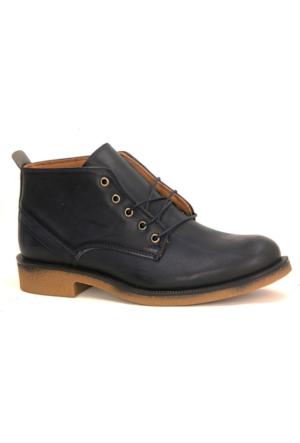 Lucio Gabbani 965 Günlük Kauçuk Taban Erkek Bot Ayakkabı