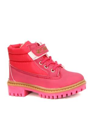 Emka 500 İçi Termal Astarlı Kız Çocuk Kışlık Bot Ayakkabı