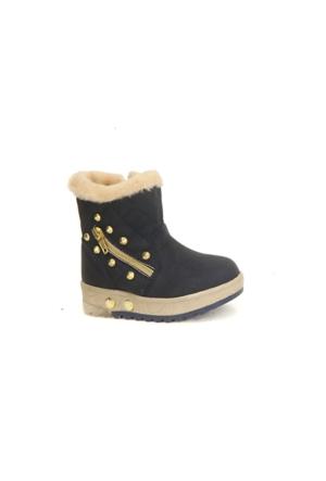 Twingo 6411 İçi Termal Kürklü Işıklı Kız Çoçuk Kışlık Bot Ayakkabı