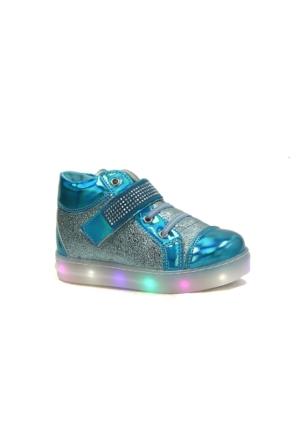Mini Rapido 1000 İşikli Ayna Patik Kız Çocuk Bot Ayakkabı