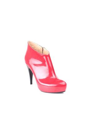Loggalin 780072 031 559 Kadın Kırmızı Platform Ayakkabı