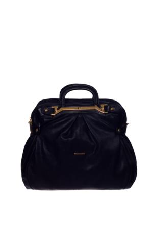 Sılver Polo Kadın Çanta Siyah Sp450