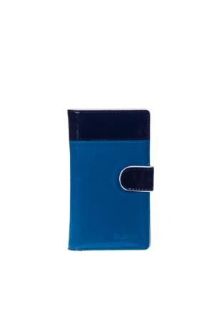 Sergıo Gıorgıannı Kadın Cüzdan Mavi Siyah S13-036