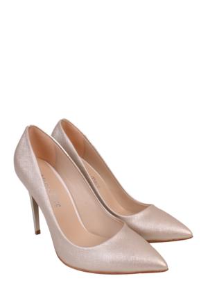 Mina Moor Sedef Klasik Bayan Ayakkabı-1770