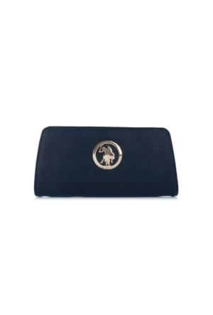 U.S. Polo Assn. Lacivert Bayan Cüzdanı Usc6221