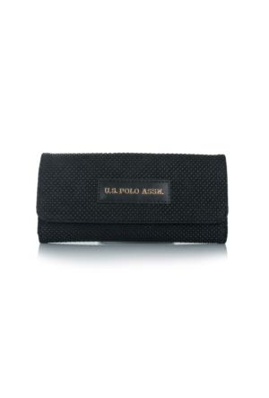 U.S. Polo Assn.Siyah Bayan Cüzdanı Usc6204