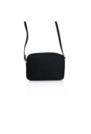 U.S. Polo Assn.Siyah Çapraz Bayan Çantası Us9021