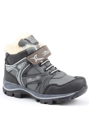 Zümrüt 2700-G İçi Termal Kürklü Erkek Çoçuk Spor Bot Ayakkabı