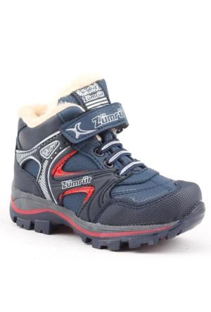 Zümrüt 2700-L İçi Termal Kürklü Erkek Çoçuk Spor Bot Ayakkabı