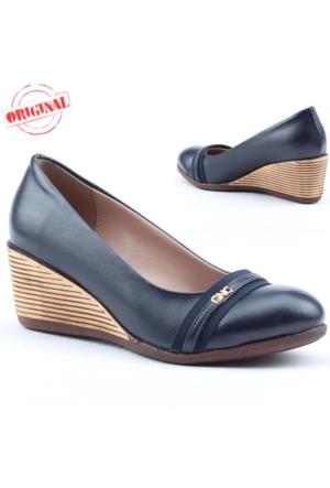 Cudo 248 Bayan Dolgu Topuk Ayakkabı 6 cm Günlük