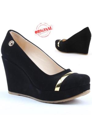 Cudo 250 Bayan Dolgu Topuk Ayakkabı Platform 9 cm Abiye