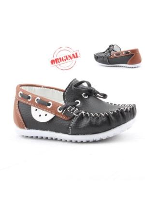 Fibinacci 1480-1 Günlük Erkek Çocuk Ayakkabı Fiyonklu
