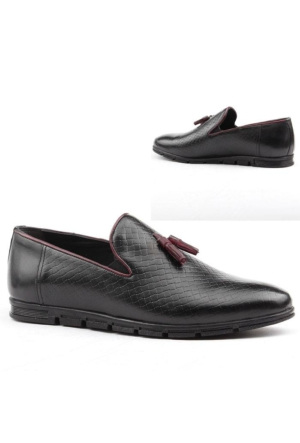 Sayan 1017 %100 Deri Erkek Günlük Ayakkabı Oxford Kolej