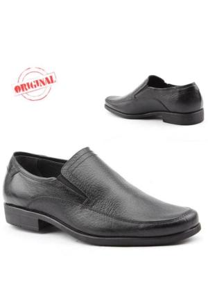 Teğmen 109 Büyük Numara Erkek Ayakkabı %100 Deri Günlük Klasik
