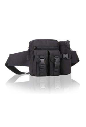 Protector Plus Günlük Kullanım Bel Çantası Siyah