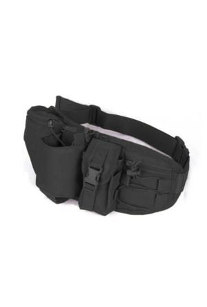 Protector Plus Suluk Hazneli Bel Çantası Siyah
