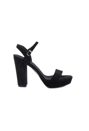 Kemal Tanca 162Tck456 604 Siyah Kadın Ayakkabı
